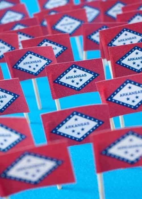 Arkansas Flags